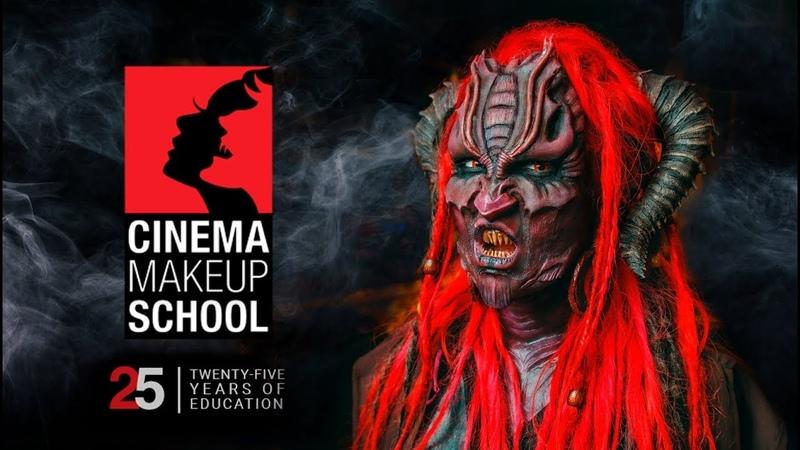 Грим для Голливуда  Bovem   SFX for Cinema Makeup School