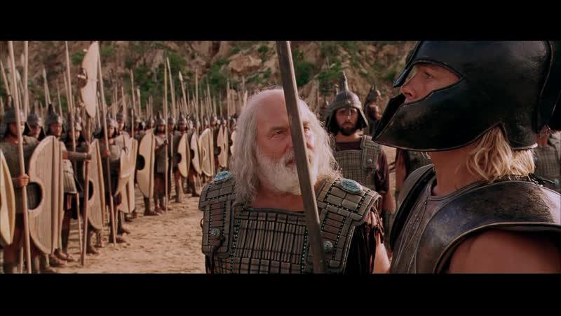 Троя бой Ахиллеса с Боагрисом