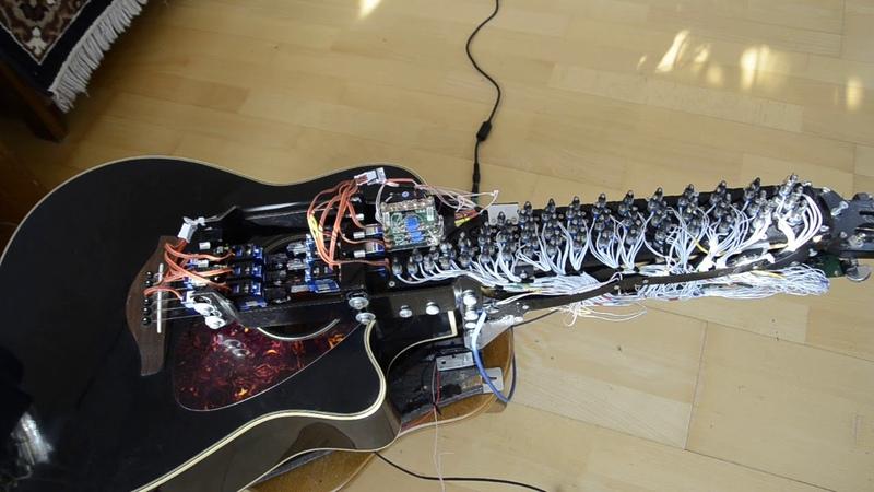 Paganini .Caprice 24(guitar-robot)