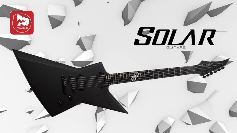 Электрогитара Solar Guitars E2.6C ( гитара от Ola Englund )