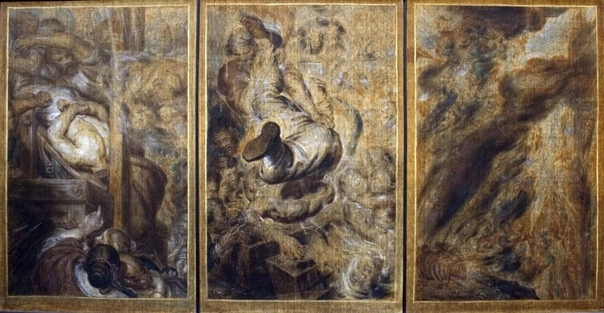 « одного шедевра». Триптих The visions of a guillotined head» («Мысли и видения отрубленной головы»), Антуан-Жозеф Вирц