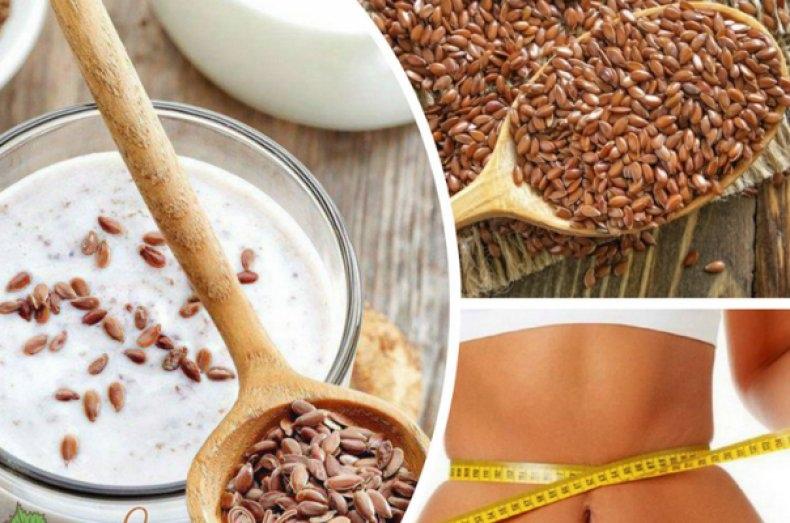 польза льна для похудения