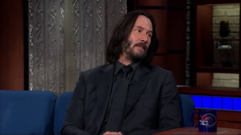 What do you think happens when we die, Keanu Reeves?