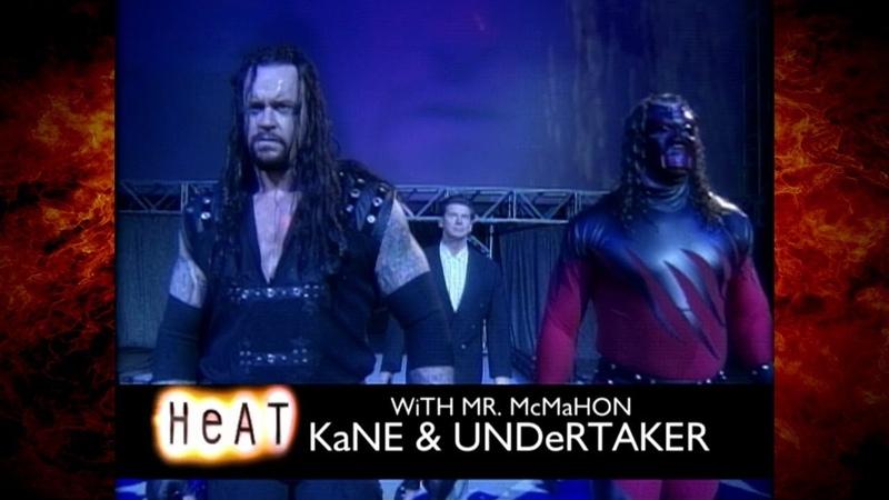 The Undertaker Kane w Mr McMahon vs Disciples of Apocalypse w Paul Ellering 9 20 98