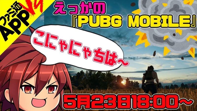 【PUBG MOBILE生放送42】れいしー参戦! ランク上位を目指せ!