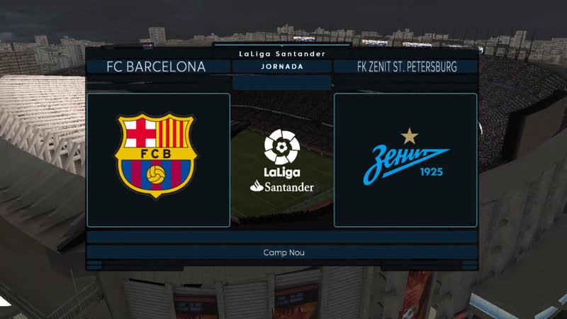 Евролига | 5 тур | «Барселона» 2:1 «Зенит»