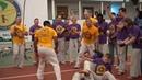 Crua Azul troca de cordas em Belgorod 2019 AXE Capoeira