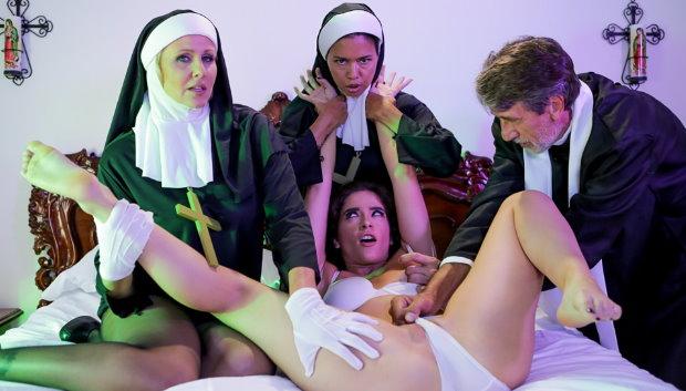 Popular Video - Ministry Of Evil Sc. 3: Threesome Nun