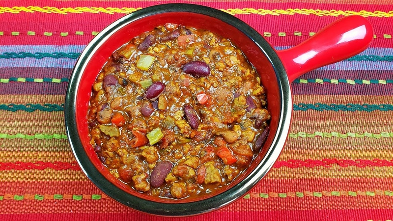 Beyond Meat Recipe The Best Vegetarian Chili Ever