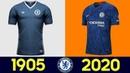🔥 The Evolution of Chelsea F.C. Football Kit | All Chelsea F.C. Football Kits in History 🔥