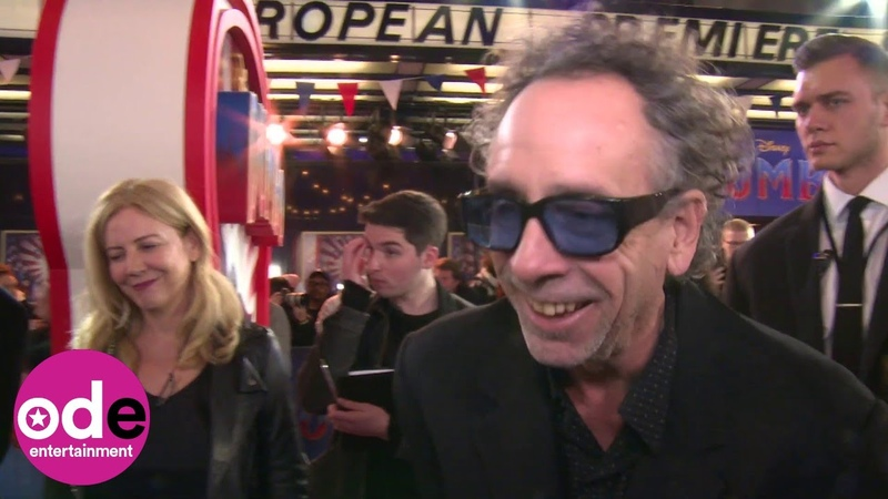 DUMBO: Tim Burton hints he might be making a superhero movie!