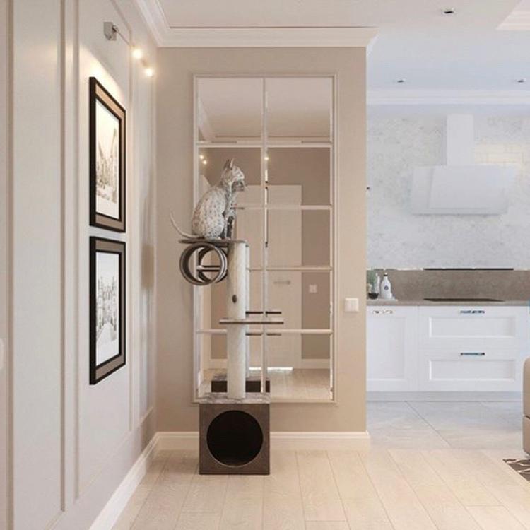Дизайн кухни, гостиной и прихожей в одном стиле
