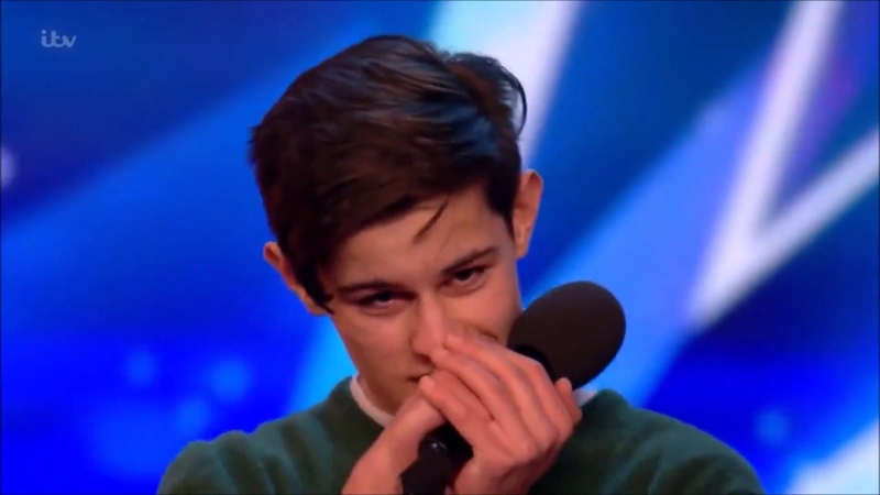 Singer Reuben Grey Sings To Girlfriend Gets SHOCKED! | Auditions 2 | Britain's Got Talent 2017