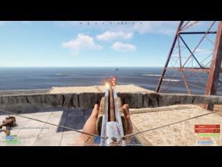 [Doctor 10FPS] Зарейдил логово супер злодея в вулкане!! [Rust|Раст]