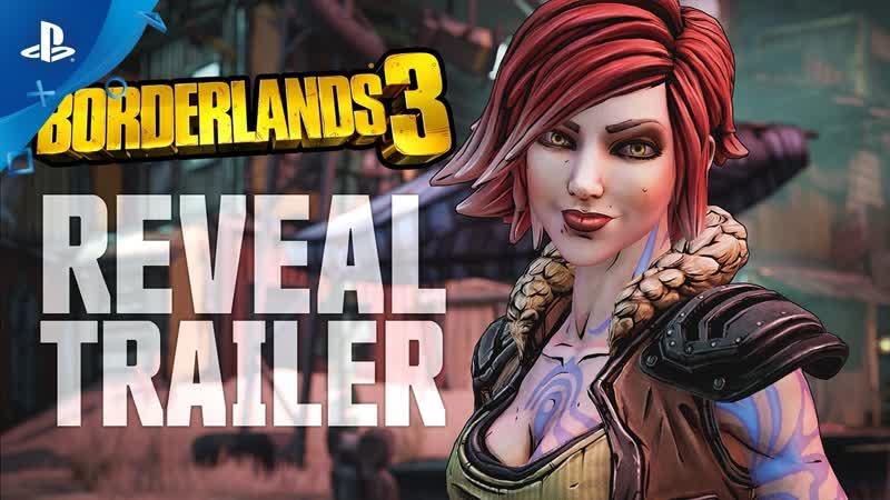 Borderlands 3 - Announce Trailer ¦ PS4