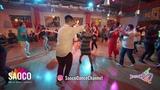 Ilya Kronberg and Elena Bryleva Salsa Dancing at Rostov For Fun Fest 2018, Monday 05.11.2018 (SC)