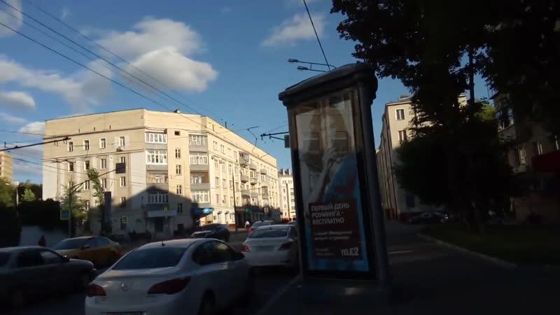 Москва 124 1-я Дубровская улица лето вечер