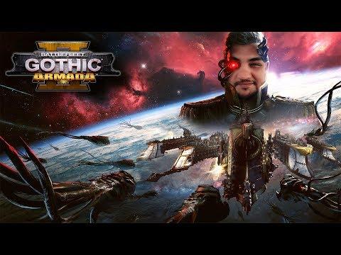 [18] Шон играет в Battlefleet Gothic Armada 2 - стрим 17 (PC, 2019)