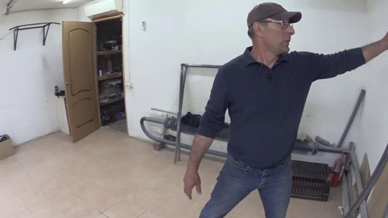 Моя система пылеудаления в гараже.