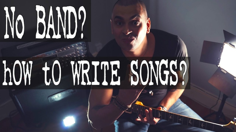Writing KILLER Melodic METALCORE songs with simple RIFFS by yourself Song at the end
