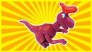 Olorotitan Dinosaur Making With Playdoh