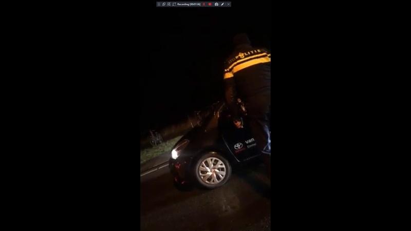 Marokkanen gaan richting Urk en worden opgepakt!! [Wapen gevonden]