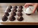 Турецкие пирожные (картошка) с печеньем, шоколадным соусом / DÜNYANIN EN KOLAY PASTASI :) (MUHTEŞEM BİR SUNUMLA)