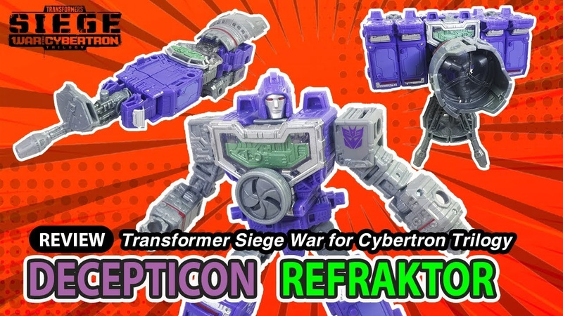 Transformer Siege Deluxe Refraktor WFC S36/SG28 review