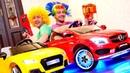 Vídeos infantiles de payasos ¿Quieres tener un coche Juegos de juguetes para niños
