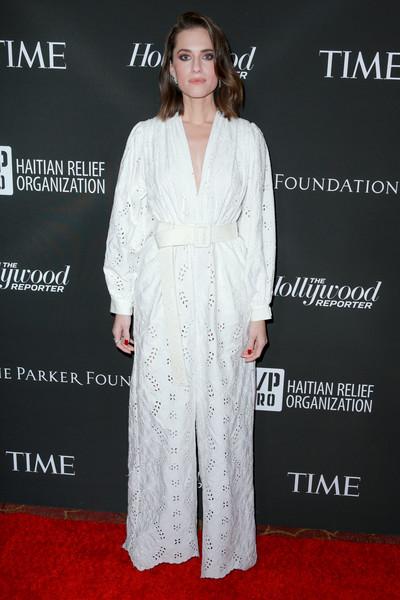 Эллисон Уильямс в белом