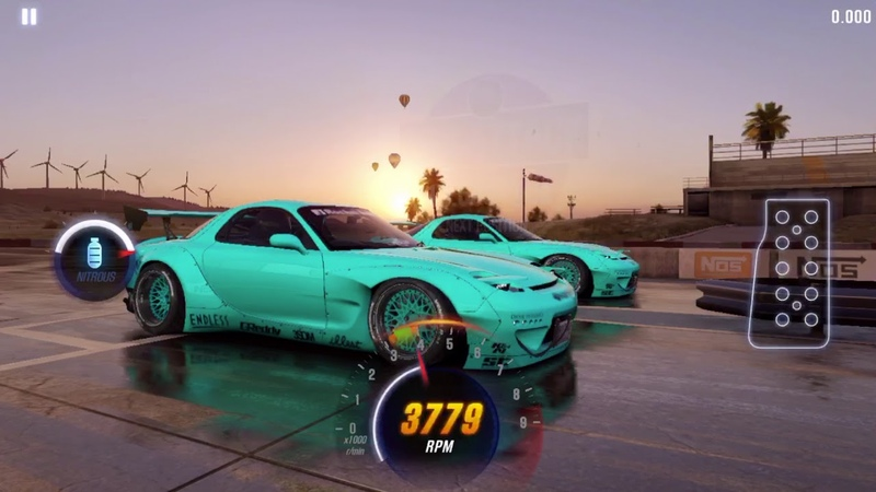 CSR Racing 2 RX-7 Rocket Bunny (Easter Event) Maxed Tune/Pattern 10.59x
