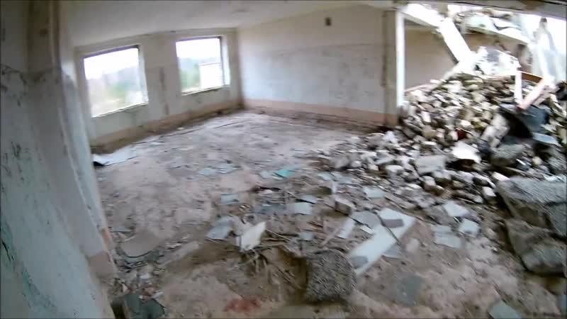 Irbene Łotwa, pozostałości po obiektach wojskowych