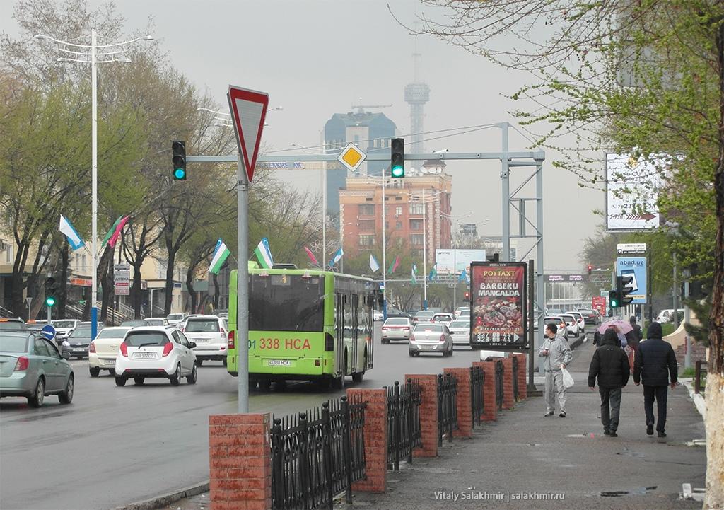 Погода в Ташкенте, март 2019