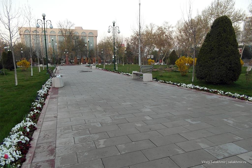 Скамейки, Ташкент 2019