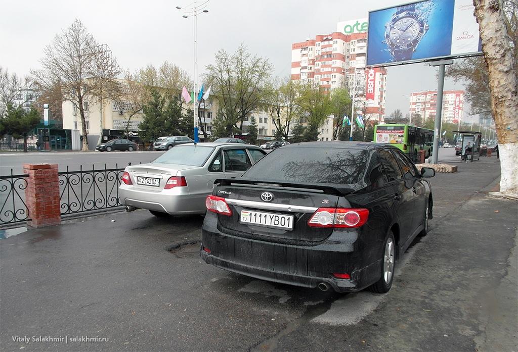 Таджикская машина, Ташкент 2019