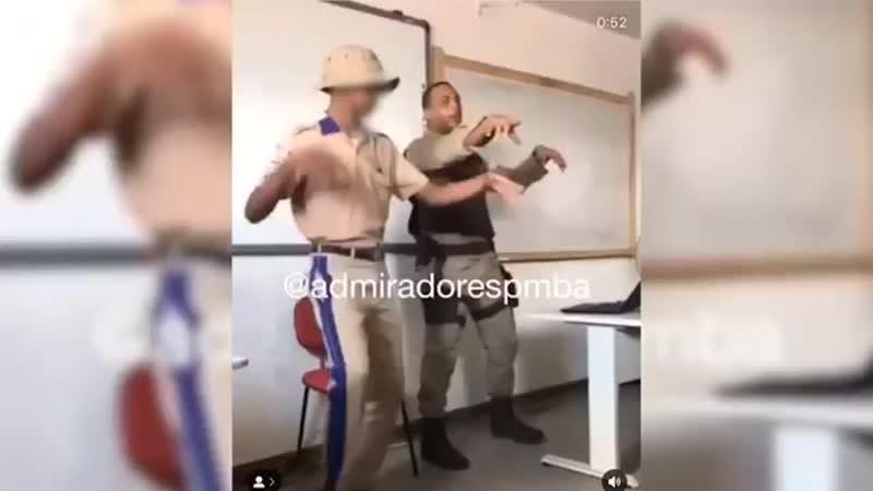 Professor PM dançante