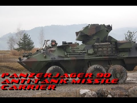Panzerjager 90 Anti-tank missile carrier