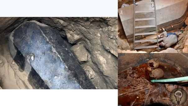 О черном саркофаге, который археологи обнаружили на территории современного Египта В наше время на территории Египта археологи обнаружили странный саркофаг, сделанный из черного гранита. После