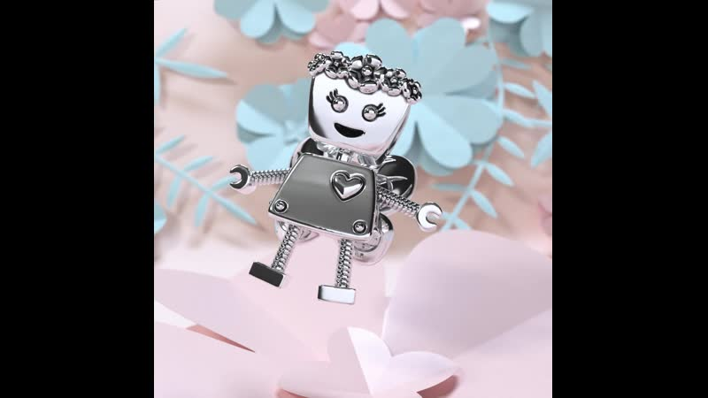 Шарм Робот Цветочная Белла