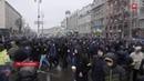 День Гнева как прошел протест Нацкорпуса и Нацдружин в Киеве или как свиней Порошенко носили
