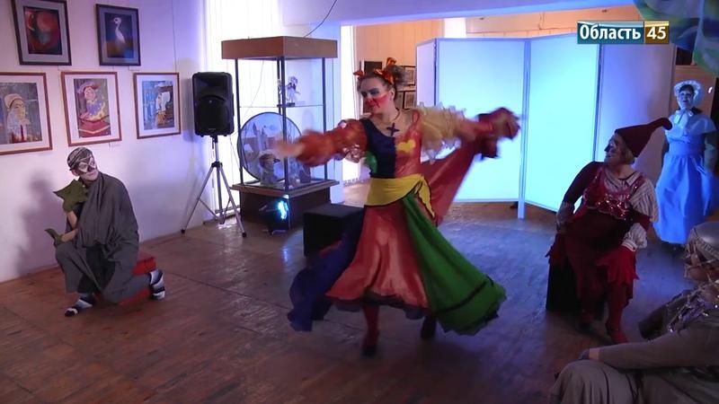 Курганские художники могу создать эскиз спектакля за одну ночь