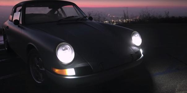 Прошлое встречается с будущим: Porsche 912 на