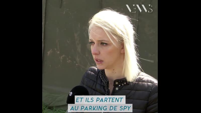 Belgique : Ameline dépense tout son argent pour aider une centaine de migrants musulmans à s'installer en Europe.