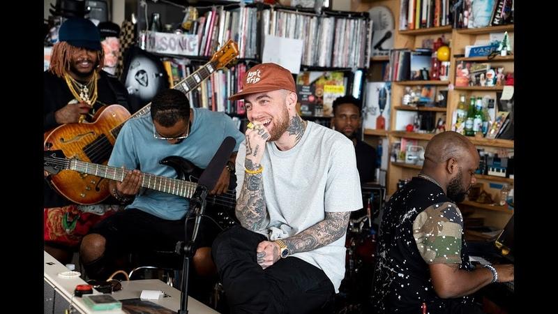Mac Miller: NPR Music Tiny Desk Concert, Aug. 6, 2018