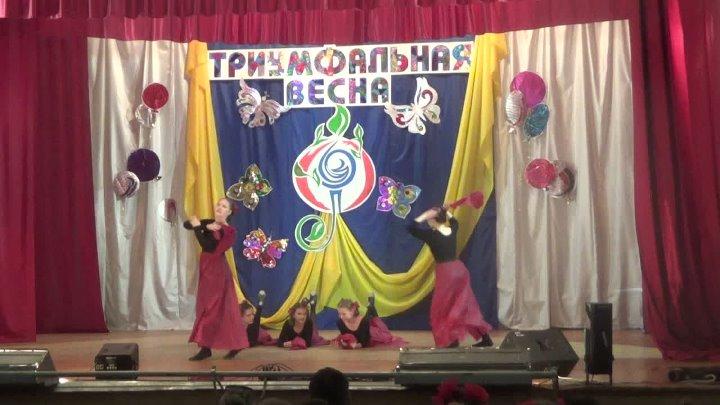 Танцевальный коллектив Мари танец А зори здесь тихие