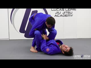 Lucas Lepri - Lasso With De La Riva Sweep to Armbar Submission