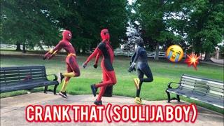 Soulja Boy Tell'em - Crank That   @ghetto.panther @ghetto.deadpool @ghetto.spider