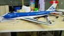Самолет из пенопласта Boeing 747-400 KLM