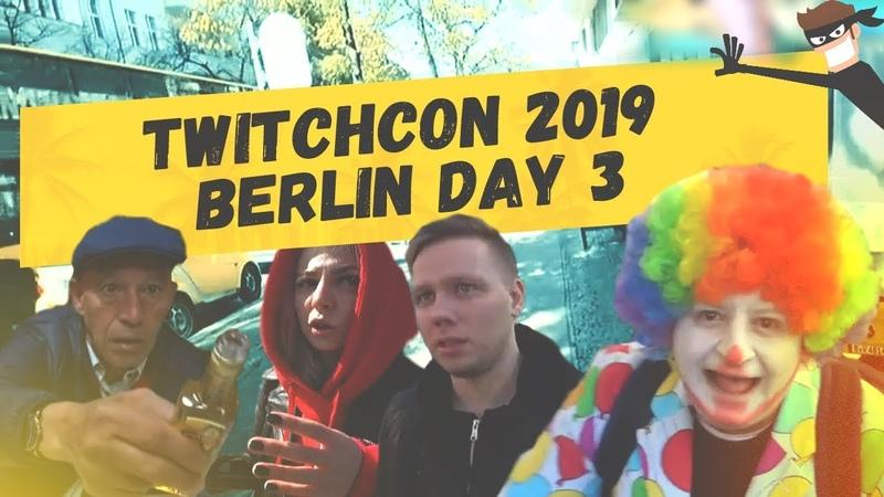 Berlin / Day 3 - Кыцу чуть не обворовали