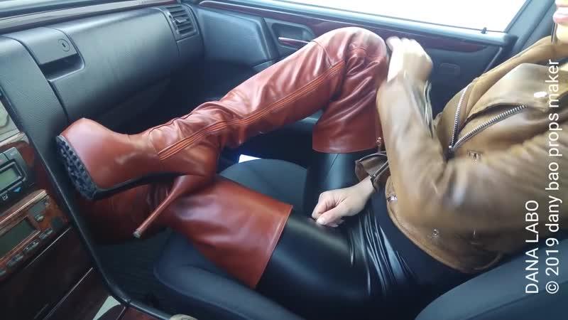 DANA LABO boots overknee